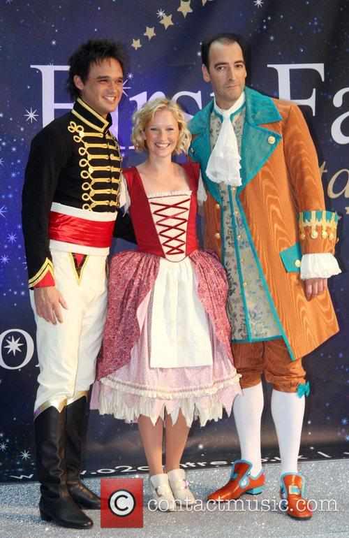 Gareth Gates, Joanna Page and Alistair Mcgowan