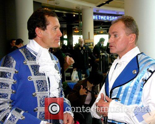 Steve Guttenberg, Bobby Davro Celebrities Promote Panto Season...