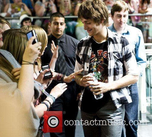 Paolo Nutini appearing instore at HMV to promote...