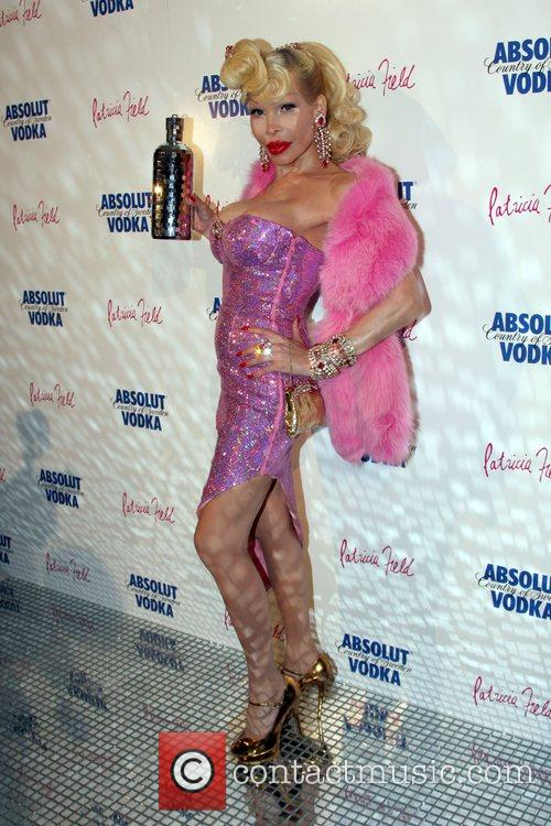 Amanda Lepore at Paper Magazine's Absolut Disco party...