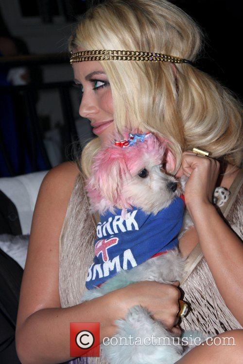Aubrey O'Day at Paper Magazine's Absolut Disco party...