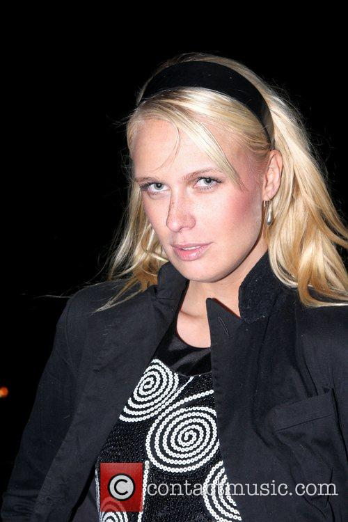 Caridee English at Paper Magazine's Absolut Disco party...