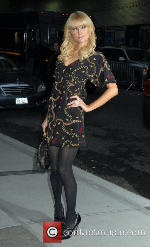 Paris Hilton and David Letterman 14