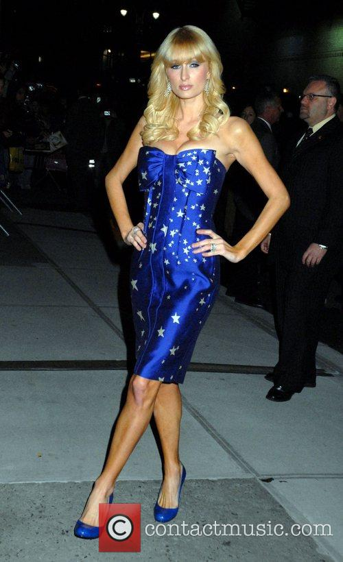 Paris Hilton and David Letterman 7