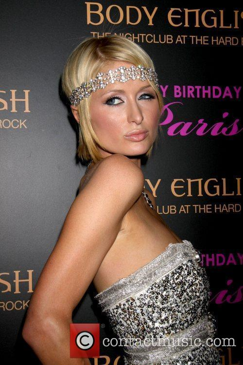 Paris Hilton celebrates her birthday at Body Rock...