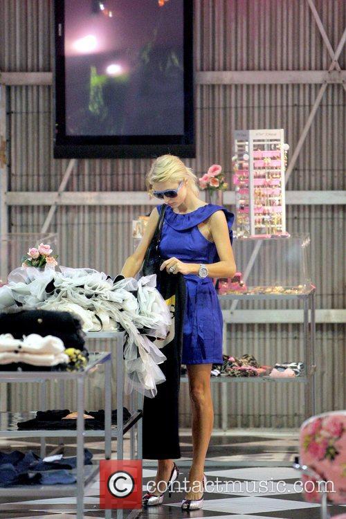 Paris Hilton  shopping at Betsey Johnson Los...