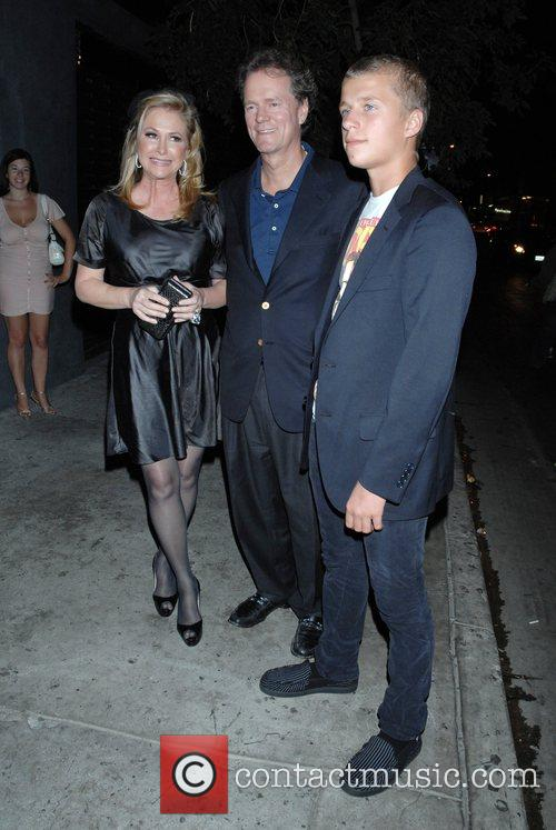 Kathy Hilton, Rick Hilton and Conrad Hilton...