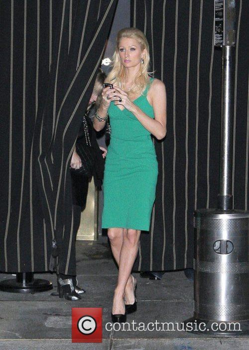 Paris Hilton at the Foxtail Lounge Los Angeles,...