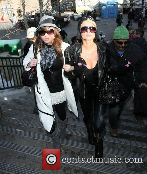 Paris Hilton and a friend 20