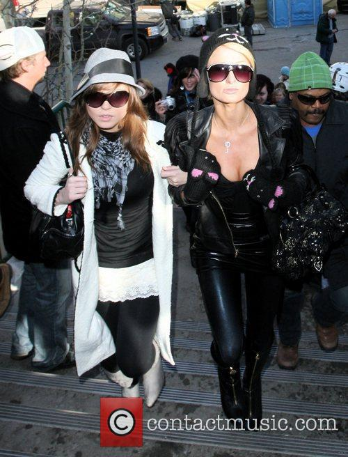 Paris Hilton and a friend 14