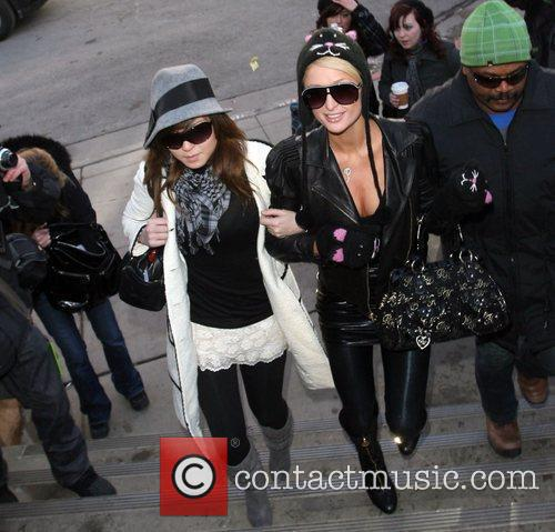 Paris Hilton and a friend 24