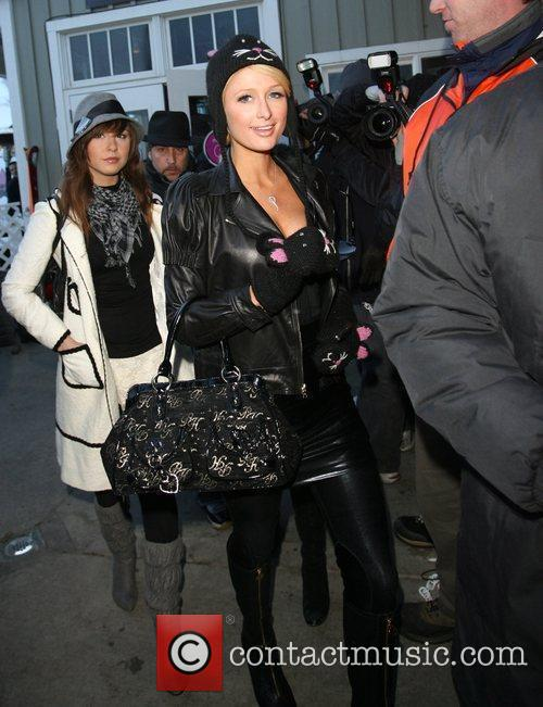 Paris Hilton and a friend 28