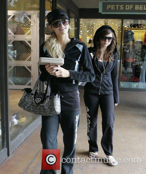 Out shopping after having lunch in Bel Air
