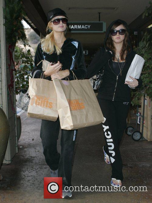 Paris Hilton and her new BFF Brittany Flickinger...