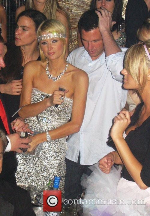 Paris Hilton celebrates her 28th birthday at Body...