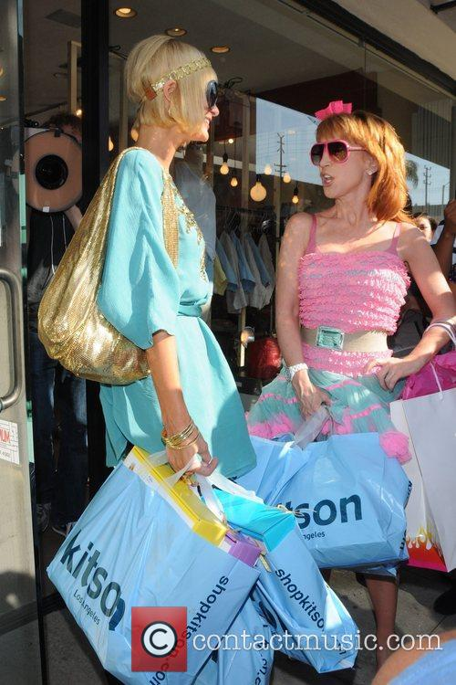 To shop at Kitson on Robertson Boulevard with...