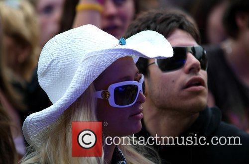 Paris Hilton and Live 8