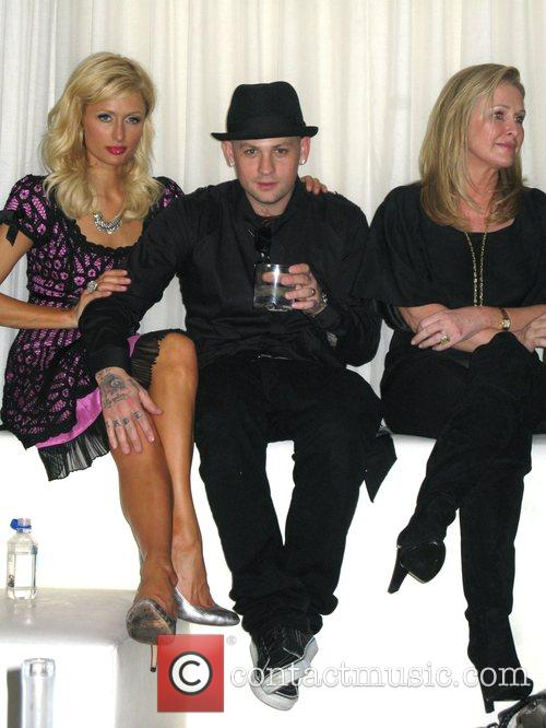 Paris Hilton, Benji Madden, Kathy Hilton celebrate Nicky...