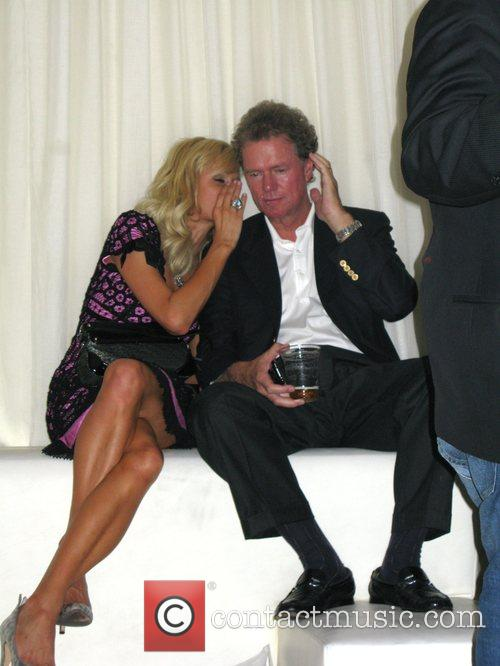 Paris Hilton and Rick Hilton celebrate Nicky Hilton's...