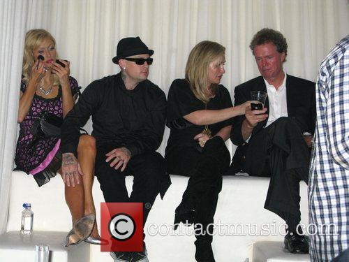 Paris Hilton, Benji Madden, Kathy Hilton and Rick...