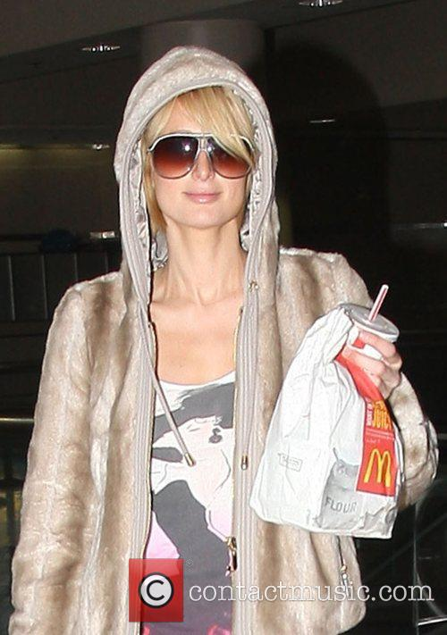 Arriving at LAX airport with McDonald's