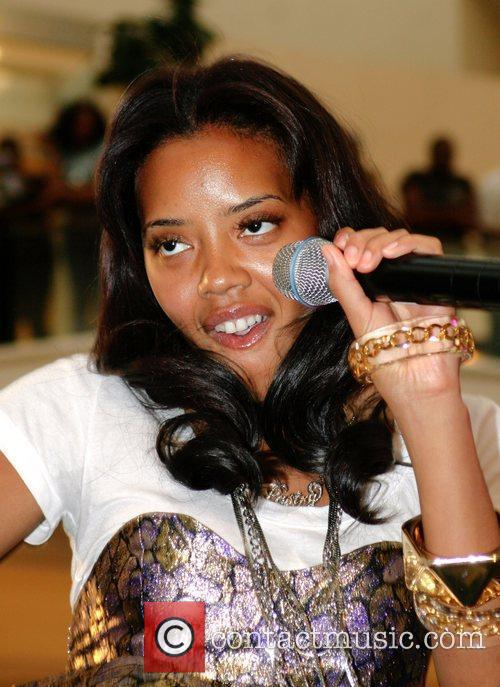 Angela Simmons Pastry Rock The Mall Tour held...