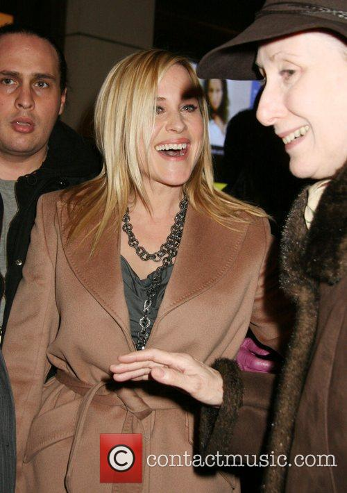 Patricia Arquette  arrives for a conversation and...