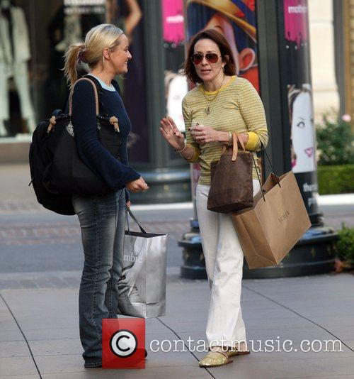 Patricia Heaton out shopping in Hollywood Los Angeles,...