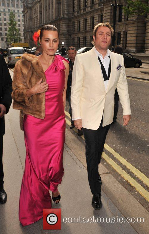 Yasmin and Simon Le Bon arrive for the...