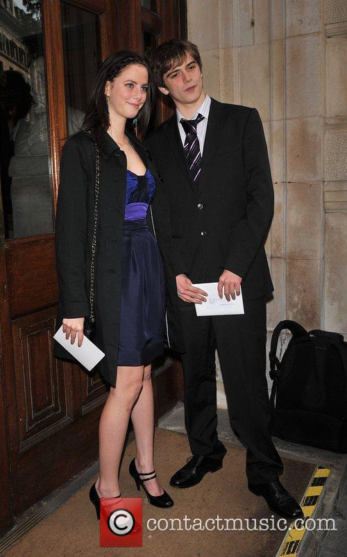 Kaya Scodelario and guest arrive for the wedding...