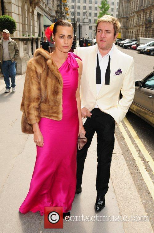 Yasmin Le Bon and Simon Le Bon arrive...