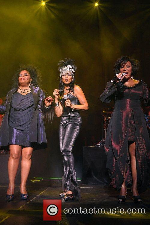 LaBelle performing live at the Fillmore