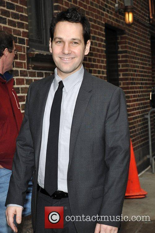 Paul Rudd, David Letterman and The Late Show With David Letterman 2