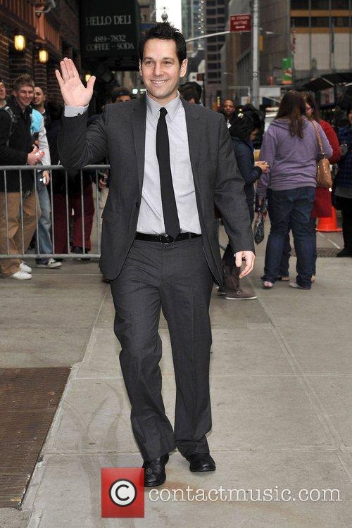 Paul Rudd, David Letterman and The Late Show With David Letterman 3