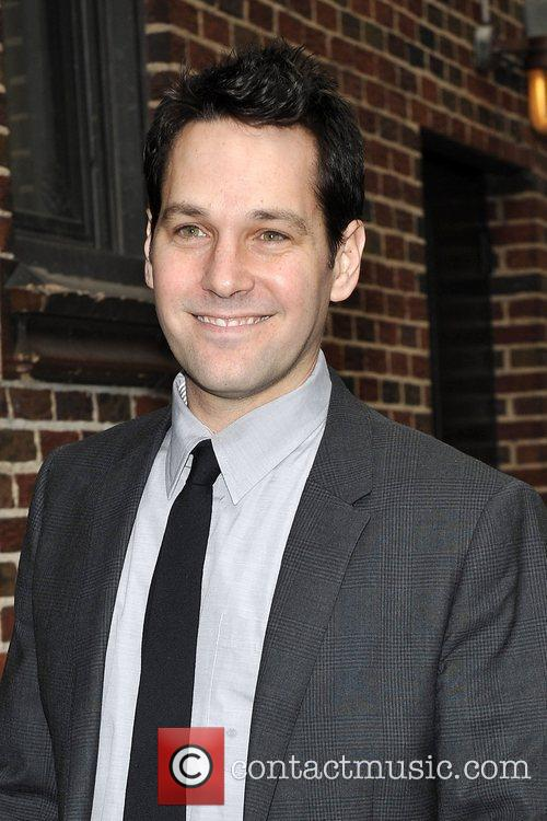 Paul Rudd, David Letterman and The Late Show With David Letterman 1