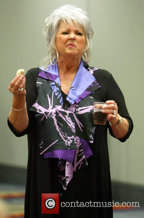Paula Deen  addresses her fans at a...