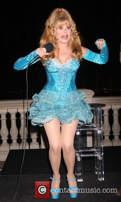Charo Co-hosts The Pbs Fundraiser At The Bellagio Fountains 6