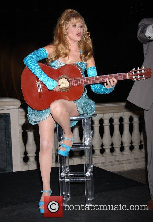 Charo Co-hosts The Pbs Fundraiser At The Bellagio Fountains 7