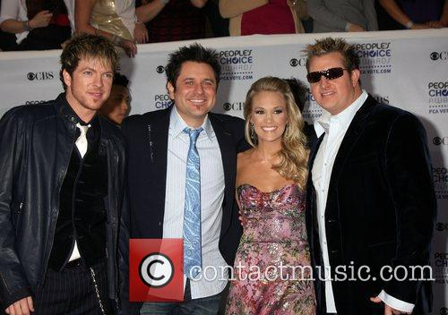 Rascal Flatts and Carrie Underwood 3