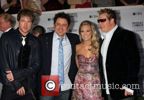 Rascal Flatts and Carrie Underwood 1