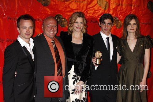Aaron Paul, Dean Norris, Rj Mitte and Betsy Brandt 1