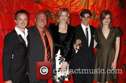 Aaron Paul, Dean Norris, Rj Mitte and Betsy Brandt 3