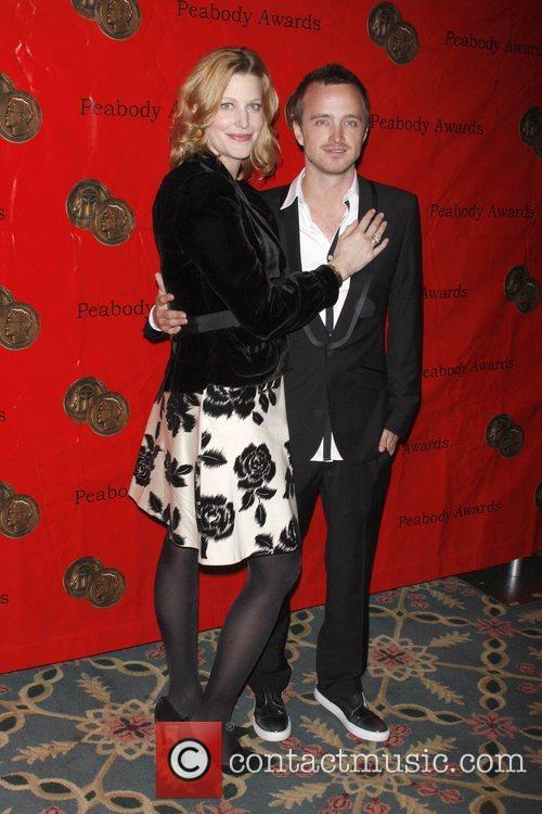 Anna Gunn and Aaron Paul 1