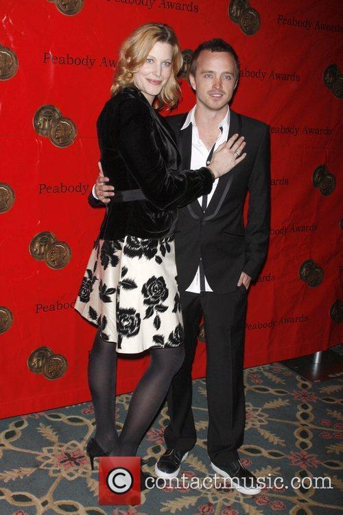 Anna Gunn and Aaron Paul 4