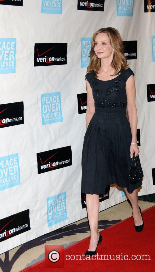 Calista Flockhart Peace Over Violence 37th Annual Humanitarian...