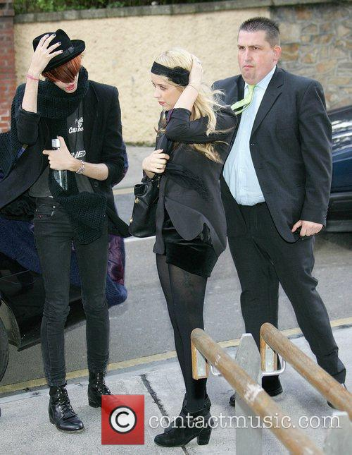 Peaches Geldof arrives for photo shoot at the...
