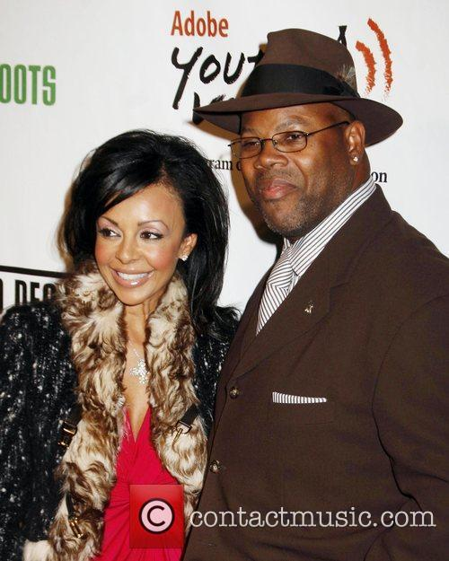 Jimmy Jam and wife Lisa Padilla The 5th...