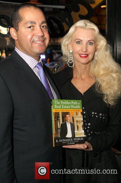 Donahue Peebles and Katrina Peebles  Launch of...
