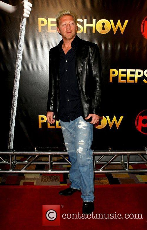 Boris Becker The world premiere of 'Peepshow' held...