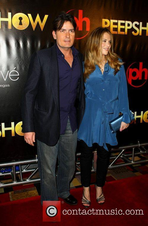 Charlie and Brooke Sheen The world premiere of...